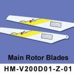 Walkera V200D01 rotor lapát