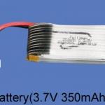 Walkera Qr Ladybird V2. FPV akkumulátor 3,7V 350mAh