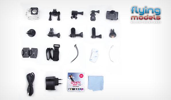 SJ4000 vízálló FullHD akció, sport kamera 5