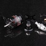 1100KV PlanetFly Black Edition Brushless motor