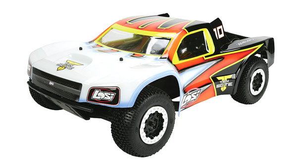 TEN-SCTE 4WD Short Course Rolling Chassis by Losi 1