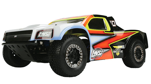 TEN-SCTE 4WD Short Course Rolling Chassis by Losi 2