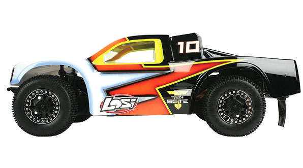 TEN-SCTE 4WD Short Course Rolling Chassis by Losi 3