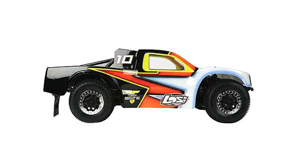 TEN-SCTE 4WD Short Course Rolling Chassis by Losi 4