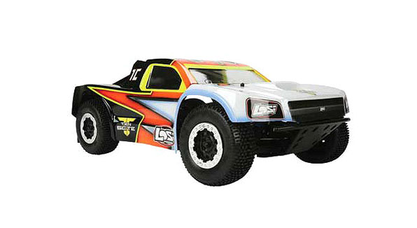 TEN-SCTE 4WD Short Course Rolling Chassis by Losi 5