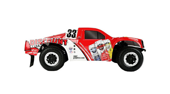 TEN-SCTE 4WD Short Course Truck RTR by Losi 4