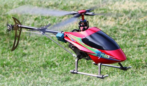 Walkera 4F180 - 4 csatornás, 2,4 GHz-es, brushless, Flybarless helikopter  3
