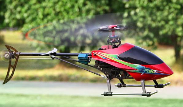 Walkera 4F180 - 4 csatornás, 2,4 GHz-es, brushless, Flybarless helikopter  4