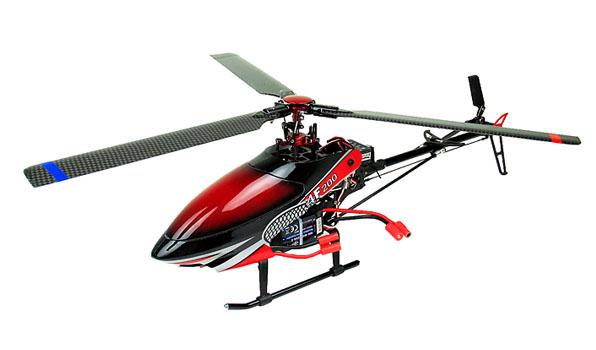Walkera 4F200 - 6 csatornás, 2,4 GHz-es, brushless, Flybarless helikopter 1