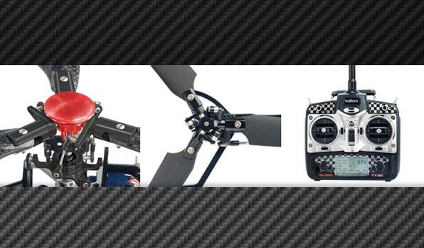 Walkera 4F200 - 6 csatornás, 2,4 GHz-es, brushless, Flybarless helikopter 3