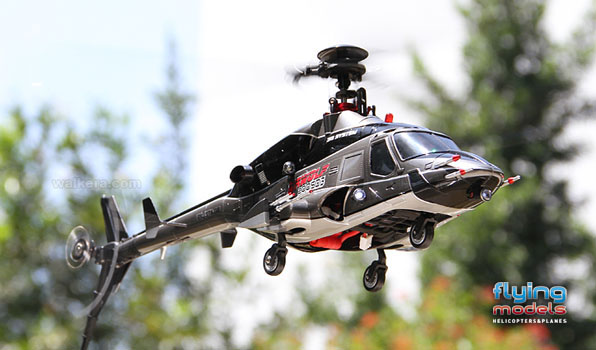 Walkera Airwolf 200SD03 - 6 csatornás, 2,4 GHz-es, brushless, Flybarless helikopter  2