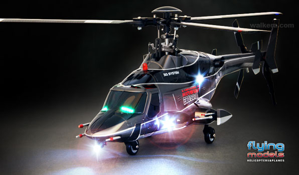 Walkera Airwolf 200SD03 - 6 csatornás, 2,4 GHz-es, brushless, Flybarless helikopter  6