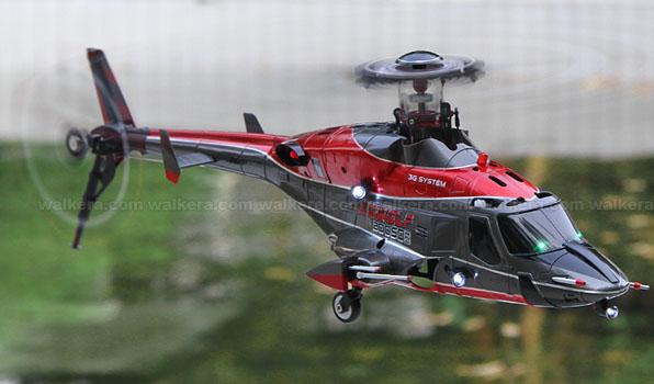 Walkera Airwolf 200SD05 - 6 csatornás, 2,4 GHz-es, brushless, Flybarless helikopter  3