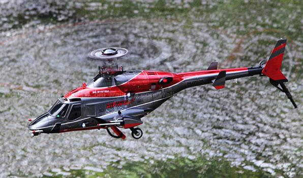 Walkera Airwolf 200SD05 - 6 csatornás, 2,4 GHz-es, brushless, Flybarless helikopter  4