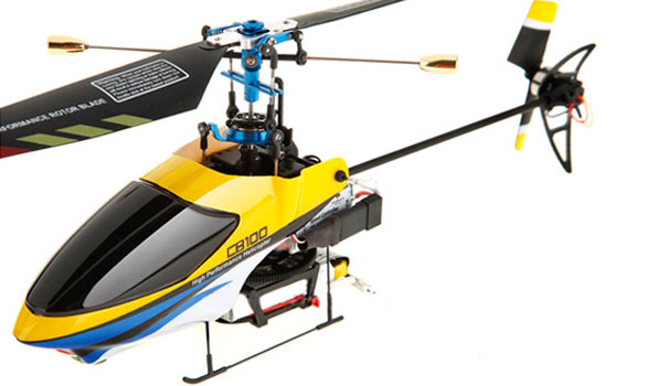 Walkera CB 100 - 4 csatornás, Bell rendszerű helikopter / WK 2402 (RTF) 1
