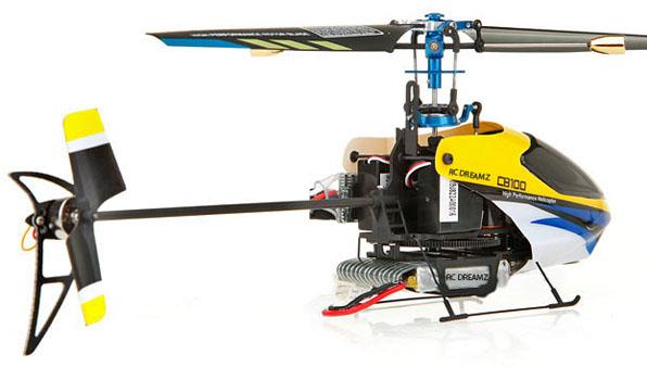 Walkera CB 100 - 4 csatornás, Bell rendszerű helikopter / WK 2402 (RTF) 2
