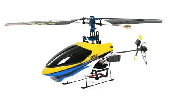 Walkera CB 100 - 4 csatornás, Bell rendszerű helikopter / WK 2402 (RTF) 6
