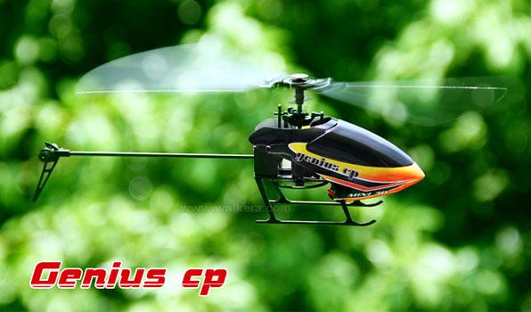 Walkera Genius CP - 6 csatornás, 6 axys gyro rendszer, flybarless helikopter 2