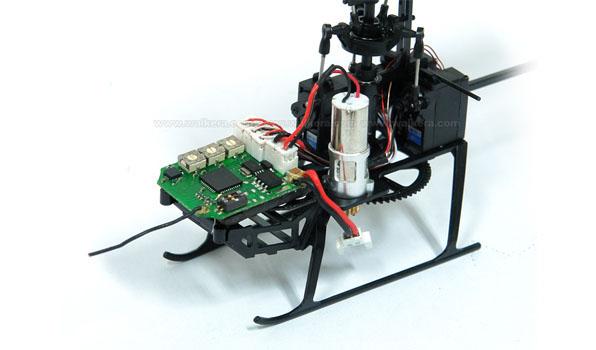 Walkera Genius CP - 6 csatornás, 6 axys gyro rendszer, flybarless helikopter 3