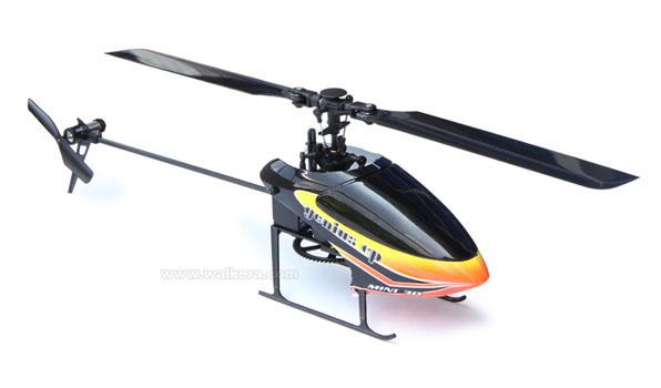 Walkera Genius CP - 6 csatornás, 6 axys gyro rendszer, flybarless helikopter 8