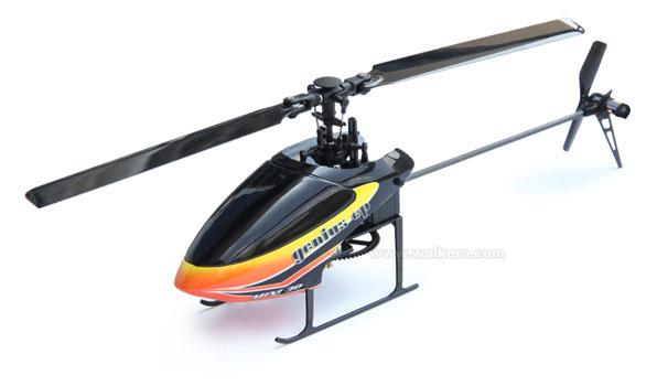 Walkera Genius CP - 6 csatornás, 6 axys gyro rendszer, flybarless helikopter 9