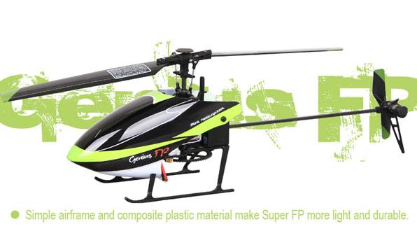 Walkera Genius FP - 4 csatornás, 2,4 GHz-es, Flybarless helikopter 2