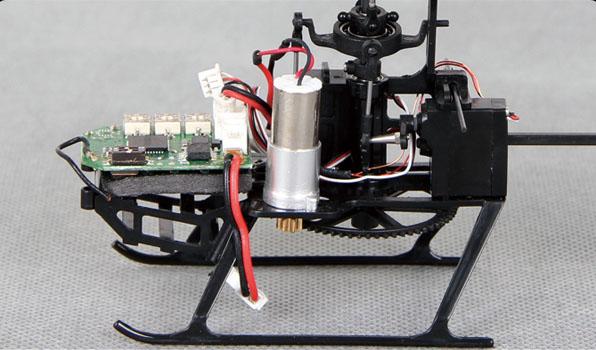 Walkera Genius FP - 4 csatornás, 2,4 GHz-es, Flybarless helikopter 4