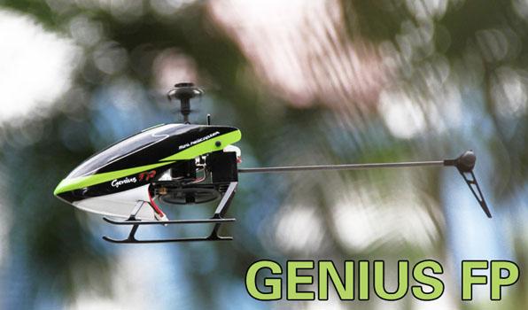 Walkera Genius FP - 4 csatornás, 2,4 GHz-es, Flybarless helikopter 5