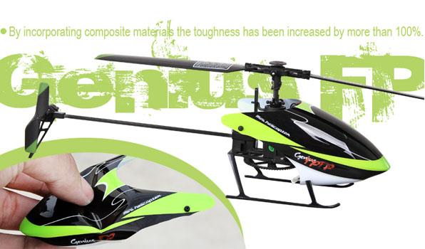 Walkera Genius FP - 4 csatornás, 2,4 GHz-es, Flybarless helikopter 6
