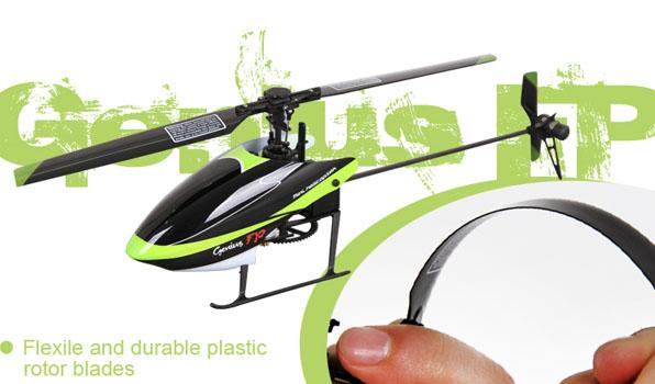 Walkera Genius FP - 4 csatornás, 2,4 GHz-es, Flybarless helikopter 7