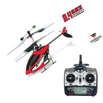 Walkera Lama 2-1 - 4 csatornás, 2,4 GHz-es, brushless, koax helikopter  1