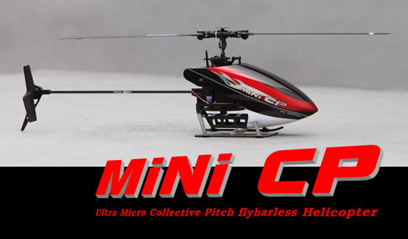 Walkera Mini CP - 6 csatornás, 2,4 GHz-es, Flybarless helikopter  1