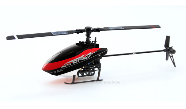 Walkera Mini CP - 6 csatornás, 2,4 GHz-es, Flybarless helikopter  3