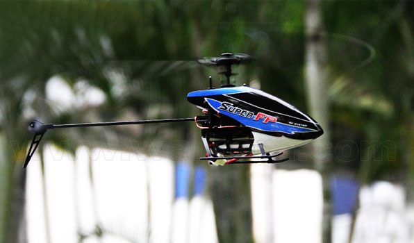 Walkera Super FP - 4 csatornás, 2,4 GHz-es, Flybarless helikopter  3