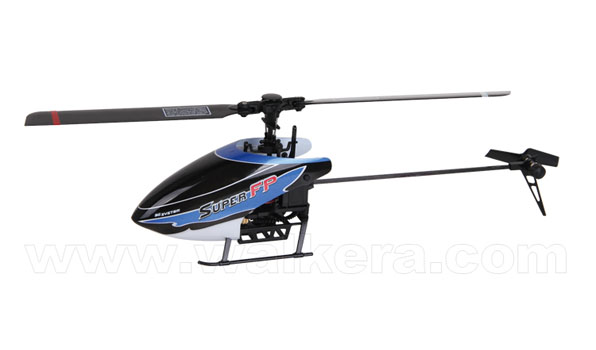 Walkera Super FP - 4 csatornás, 2,4 GHz-es, Flybarless helikopter  4