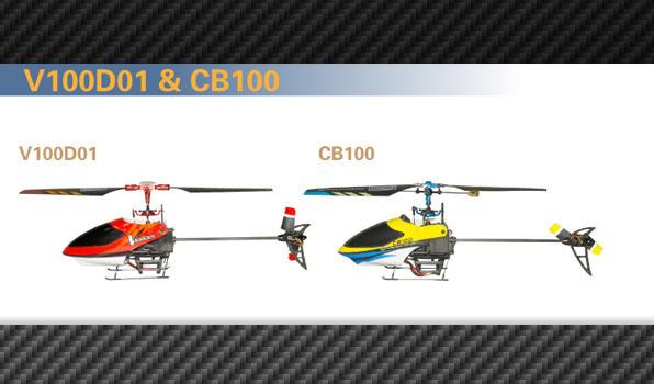 Walkera v100d01 - 4 csatornás, 2,4 GHz-es, FP helikopter 6