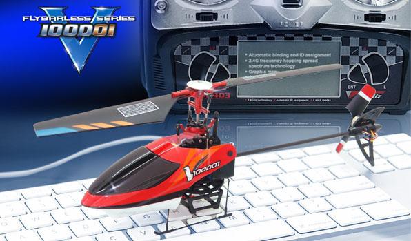 Walkera v100d01 - 4 csatornás, 2,4 GHz-es, koax helikopter 1