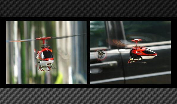 Walkera v100d01 - 4 csatornás, 2,4 GHz-es, koax helikopter 2