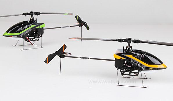 Walkera V100D08 - 6 csatornás, 2,4 GHz-es, Flybarless helikopter  3