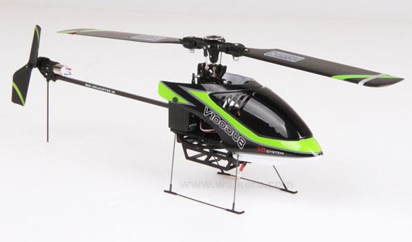 Walkera V100D08 - 6 csatornás, 2,4 GHz-es, Flybarless helikopter  4