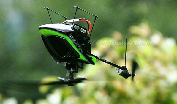 Walkera V100D08 - 6 csatornás, 2,4 GHz-es, Flybarless helikopter  6