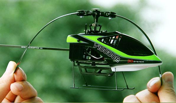 Walkera V100D08 - 6 csatornás, 2,4 GHz-es, Flybarless helikopter  7