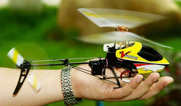 Walkera v120d01 - 4 csatornás, 2,4 GHz-es, brushless, Flybarless helikopter 3