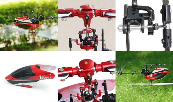 Walkera V120D02 - 6 csatornás, 2,4 GHz-es, brushless, Flybarless helikopter  1