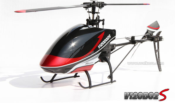 Walkera V120D02S - 6 csatornás, 2,4 GHz-es, brushless, Flybarless helikopter  3