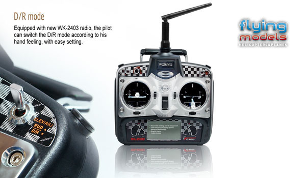 Walkera v200d01 - 4 csatornás, 2,4 GHz-es, Flybarless helikopter  4