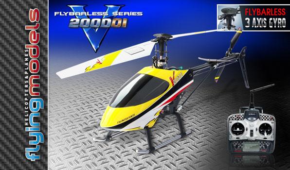 Walkera v200d01 - 4 csatornás, 2,4 GHz-es, Flybarless helikopter  6