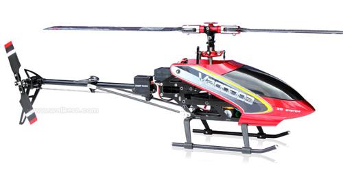 Walkera V200D03 - 6 csatornás, 2,4 GHz-es, brushless, Flybarless helikopter 2