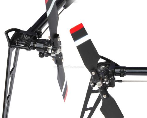 Walkera V200D03 - 6 csatornás, 2,4 GHz-es, brushless, Flybarless helikopter 7