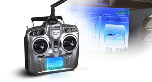 Walkera V200D03 - 6 csatornás, 2,4 GHz-es, brushless, Flybarless helikopter 8
